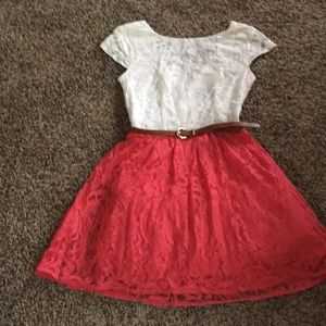 B Darlin dress size 1/2